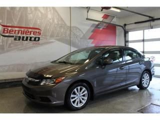 Used 2012 Honda Civic EX for sale in Lévis, QC