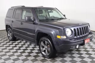 Used 2015 Jeep Patriot Sport/North HIGH-ALTITUDE PACKAGE, 4X4, LEATHER, REMOTE START for sale in Huntsville, ON