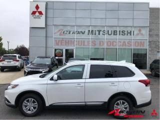 Used 2020 Mitsubishi Outlander ES S-AWC +7PLACES+CAM RECUL+APPLE CARPLAY/ANDROID for sale in St-Hubert, QC