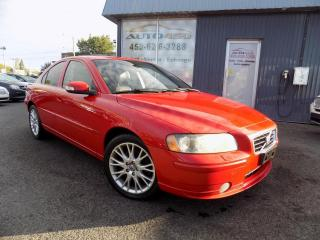 Used 2007 Volvo S60 ***T5,CUIR,TOIT,MAGS,PERFORMANTE*** for sale in Longueuil, QC