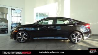 Used 2016 Honda Civic TOURING + CUIR + GPS + TOIT OUVRANT! for sale in Trois-Rivières, QC