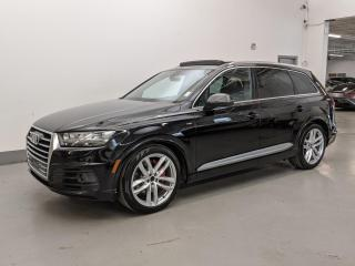 Used 2017 Audi Q7 TECHNIK/S LINE/DYNAMIC PKG/HEADS-UP DISPLAY/7PASS! for sale in Toronto, ON