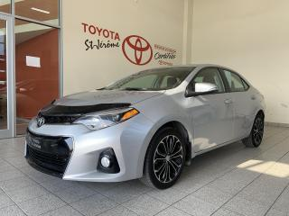 Used 2016 Toyota Corolla * S * MAGS * TOIT OUVRANT * BLUETOOTH * for sale in Mirabel, QC