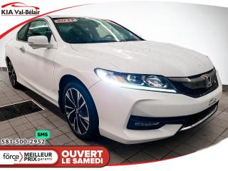 Used 2017 Honda Accord *EX*CAMÉR*AIR*CRUISE*SIÈGES CHAUFF* for sale in Québec, QC