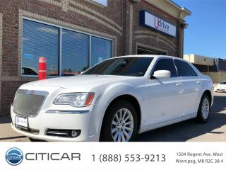 Used 2013 Chrysler 300 2013 CHRYSLER 300*LEATHER*B.CAM*HTD SEATS*WGRAIN for sale in Winnipeg, MB