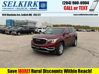 Used 2017 GMC Acadia SLE  -  Touch Screen for sale in Selkirk, MB
