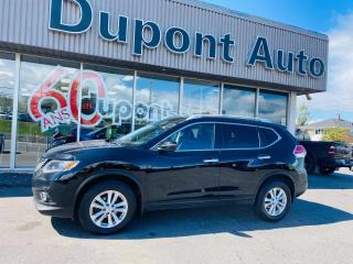 Used 2014 Nissan Rogue SV AWD + TOIT PANO + MAGS + CAMÉRA for sale in Alma, QC