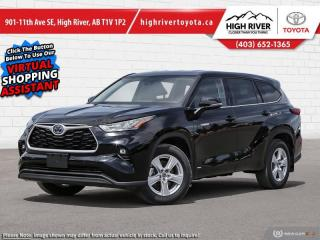 New 2020 Toyota Highlander Hybrid LE  -  Android Auto for sale in High River, AB