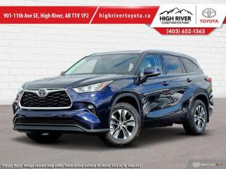 New 2020 Toyota Highlander XLE  - Power Moonroof -  Power Liftgate for sale in High River, AB