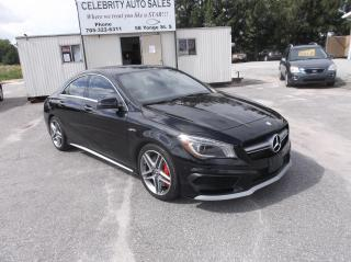 Used 2015 Mercedes-Benz CLA45 for sale in Elmvale, ON