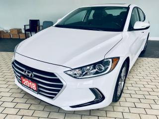 Used 2018 Hyundai Elantra GL SE SUNROOF ALLOY ANDROID APPLE for sale in Brampton, ON