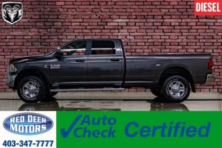 Used 2018 RAM 3500 4x4 Crew Cab SLT Longbox Diesel BCam for sale in Red Deer, AB