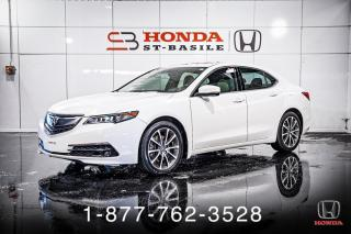 Used 2017 Acura TLX V6 + TECH + SH-AWD + NAVI + CUIR + WOW! for sale in St-Basile-le-Grand, QC