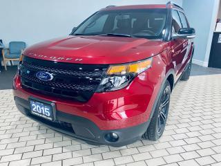 Used 2015 Ford Explorer Sport I 4X4 I LEATHER I DUAL SUNROOF I ALLOY I NAV for sale in Brampton, ON