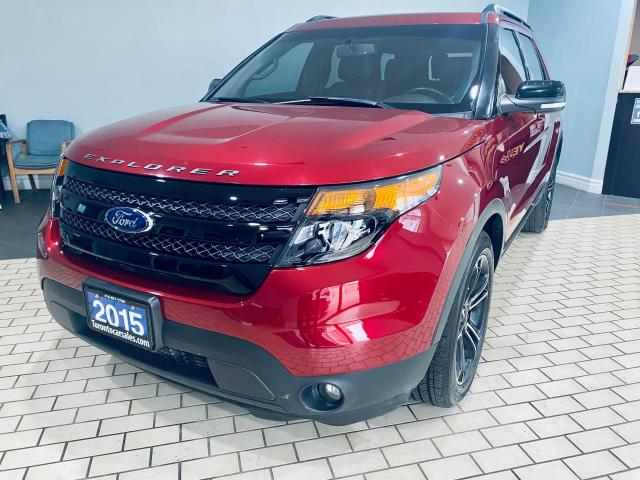 2015 Ford Explorer Sport I 4X4 I LEATHER I DUAL SUNROOF I ALLOY I NAV