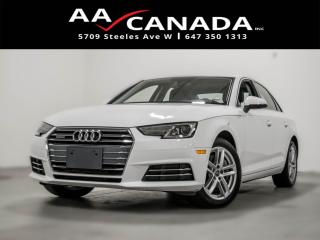 Used 2017 Audi A4 Komfort for sale in North York, ON