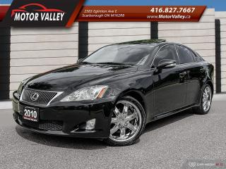 Used 2010 Lexus IS 250 AWD NAVIGATION - CAMERA MINT! for sale in Scarborough, ON