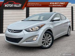 Used 2016 Hyundai Elantra Sport Appearance SunRoof - B.Up Camera! for sale in Scarborough, ON