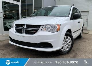 Used 2014 Dodge Grand Caravan SE - STOW N GO, CLOTH, REMOTE START, GREAT FAMILY VEHICLE for sale in Edmonton, AB