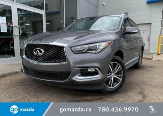 Used 2020 Infiniti QX60 ESSENTIAL - NAV, LEATHER, SUNROOF, POWER LIFTGATE, 360 CAM AND MUCH MORE! for sale in Edmonton, AB