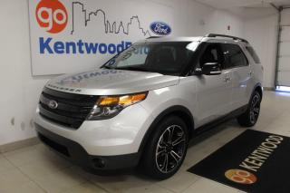 Used 2014 Ford Explorer Sport | AWD | Leather | Sunroof | Heated and Cooled | 6 Seater for sale in Edmonton, AB