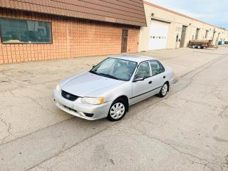 Used 2002 Toyota Corolla CE   ICE COLD AIR   AS IS SPECIAL for sale in Burlington, ON