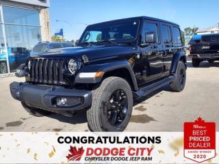 New 2020 Jeep Wrangler Unlimited Sahara Altitude for sale in Saskatoon, SK