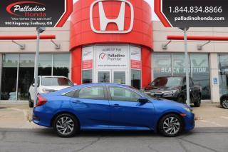 Used 2018 Honda Civic Sedan SE-CERTIFIED-LOW KM - for sale in Sudbury, ON