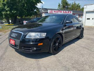 Used 2007 Audi A6 3.2L/S-Line/Automatic/Leather/Roof/All Wheel Drive for sale in Scarborough, ON