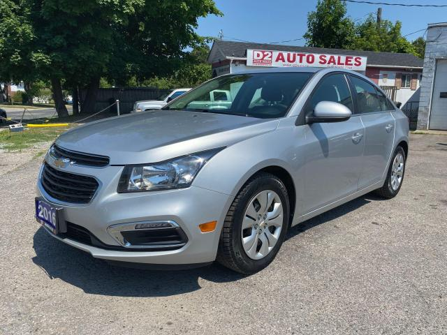 2016 Chevrolet Cruze LT/Accident Free/Automatic/BT/Bckup Cam/Certified