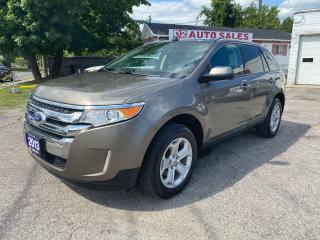 Used 2013 Ford Edge Accident Free/Leather/PanoRoof/Navi/Backup Camera for sale in Scarborough, ON