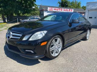 Used 2011 Mercedes-Benz E-Class E 550 Coupe/Automatic/Navi/Camera/Comes Certified for sale in Scarborough, ON