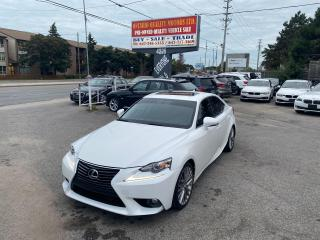 Used 2014 Lexus IS 250 for sale in Toronto, ON