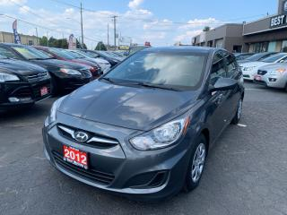 Used 2012 Hyundai Accent GL for sale in Hamilton, ON