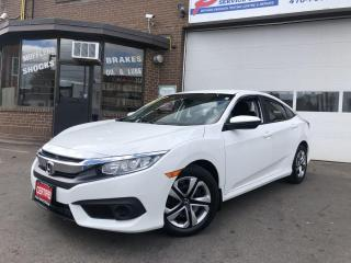 Used 2016 Honda Civic LX-BACKUP CAMERA-BLUETOOTH*CERTIFIED* for sale in York, ON