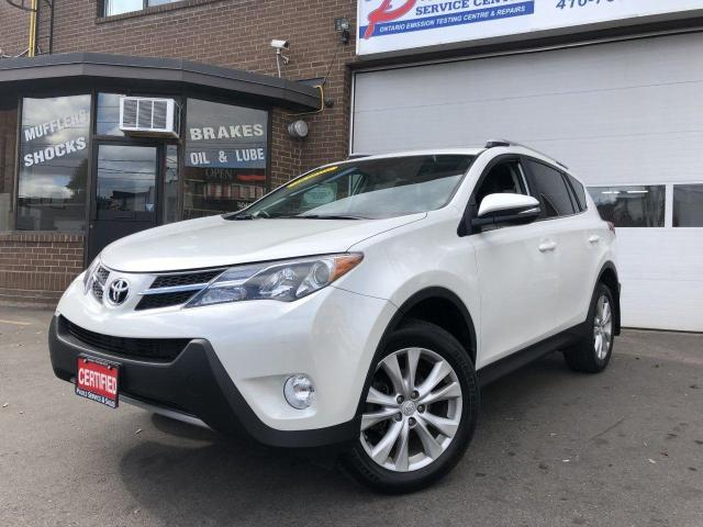 2015 Toyota RAV4  AWD LIMITED-AWD-NAVI-CAMERA-BLUETOOTH*CERTIFIED*