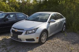 Used 2012 Chevrolet Cruze LT ECO FWD CRUZE LT | ECO | CLEAN CARFAX | TEST DRIVE AVAILABLE TODAY for sale in Burlington, ON