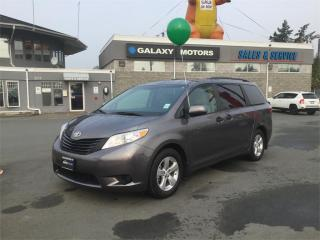 Used 2017 Toyota Sienna 3rd Row Seats 3 Zone A/C for sale in Victoria, BC