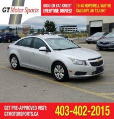 Used 2013 Chevrolet Cruze LT Turbo | $0 DOWN - EVERYONE APPROVED! for sale in Calgary, AB