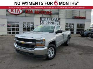 Used 2017 Chevrolet Silverado 1500 Work Truck, 4X4, Traction Control. for sale in Niagara Falls, ON
