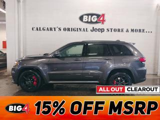 New 2020 Jeep Grand Cherokee SRT for sale in Calgary, AB