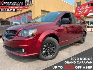 New 2020 Dodge Grand Caravan SXT BLACKTOP for sale in Kingston, ON