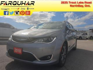 Used 2018 Chrysler Pacifica Limited - Navigation -  Leather Seats - $238 B/W for sale in North Bay, ON
