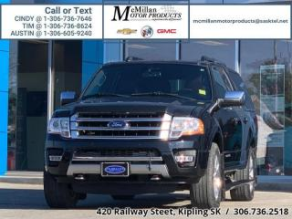 Used 2017 Ford Expedition Max Platinum  3.5L V6 TWIN TURBO ENGINE,4X4,TRAILER PA for sale in Kipling, SK