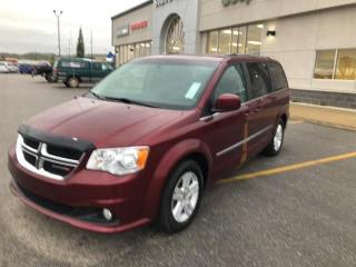Used 2017 Dodge Grand Caravan CREW,LEATHER,DVD,HEATED SEATS for sale in Slave Lake, AB