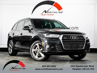 Used 2018 Audi Q7 3.0 TFSI Quattro|Technik|S-Line|7 Passenger|Adaptive Cruise for sale in Vaughan, ON