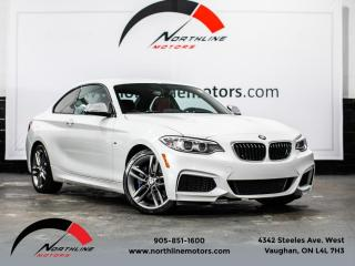 Used 2017 BMW 2 Series M240i|M-Sport|6-Speed Manual|Red Leather|Keyless for sale in Vaughan, ON