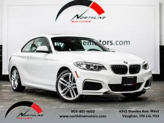 Used 2016 BMW 2 Series 228i|M-Sport|6-Speed Manual|Heated Leather|Sunroof for sale in Vaughan, ON