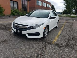 Used 2017 Honda Civic Sedan ONE OWNER|ACCIDENT FREE|CERTIFIED|WARRANTY for sale in Richmond Hill, ON