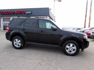 Used 2009 Ford Escape XLT V6 LEATHER SUNROOF CERTIFIED 2YR WARRANTY for sale in Milton, ON